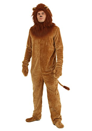 Plus Size Deluxe Lion Fancy dress costume 4X
