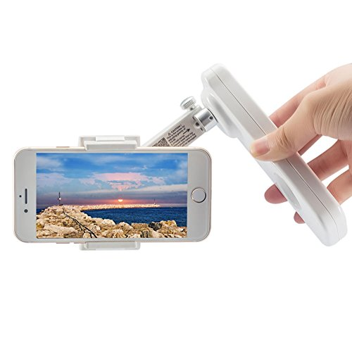 Smartphone Gimbal X-CAM SIGHT2 Stabilizzatore palmare per smartphone Include iPhone7 / 7 plus / Samsung / Galaxyand / Huawei / Xiaomi, Gimbal telefono pieghevole a 2 assi cardanico o iphone Gimbal