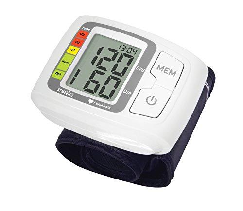 HoMedics automatisches Blutdruckmessgerät - Benutzung Zuhause, Herzschlag, Erkennt Herzrhythmusstörungen - basierend auf Vorgaben der Weltgesundheitsorganisation, 60 Messspeicher, 14-19.5cm Manschette