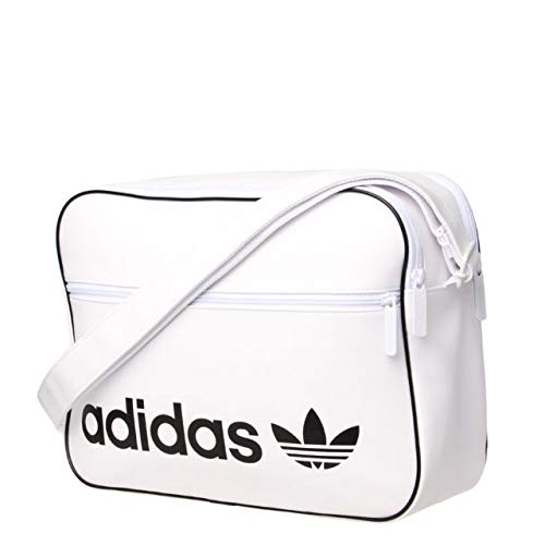 adidas Erwachsene Airliner Vintage Umhängetasche, White, One Size (Side Bag Laptop)