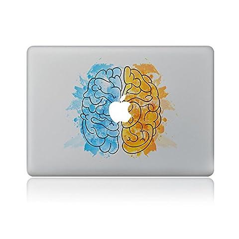 """MacBook Aufkleber, Chickwin Creative Pattern dekorativ Film Notebook Sticker Skin personalisierte Aufkleber MacBook Pro Air 13"""" Decal (Gehirne)"""