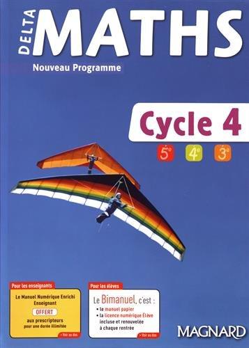 DeltaMaths Cycle 4 (5e/4e/3e)
