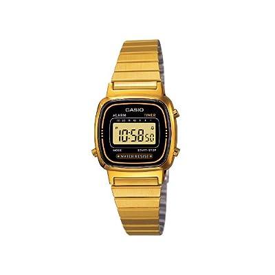 Casio Lady Vintage LA670WEGA-1EF - Reloj de mujer, color dorado