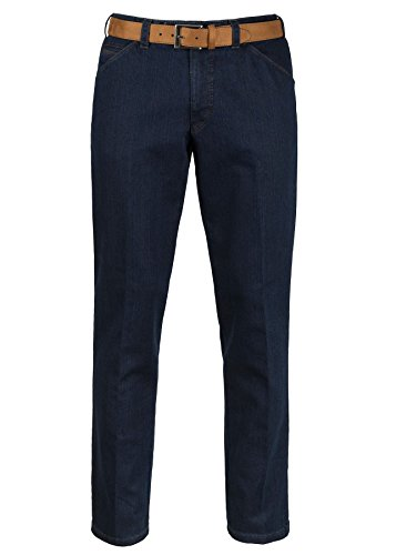 Men's Meyer Chicago Two Tone Denim Jeans - Blue/Camel