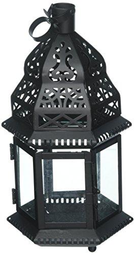 Zingz und Thingz Marokkanischer Vogelkäfig Laterne in schwarz -