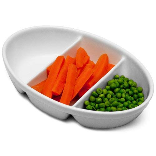 Royal Genware 3 Division platos para verduras 24 cm - 4 unidades...