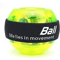Giratorio Ball, Slim erence mano Trainer energyball con Light muñeca Trainingsgerät para brazo Descansa Mano Power Balón de entrenamiento, verde