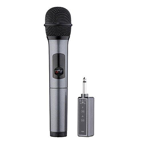 ELAINE K38-C Bluetooth Wireless Mikrofon Portable Mini 3,5 mm Hand Griff Kit Für Kirche/Home / Karaoke/Business Meeting