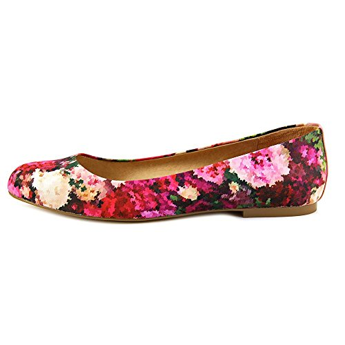 Nina Peppy Femmes Toile Chaussure Plate Pixel floral