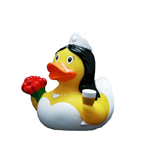 Lilalu 8,5cm Braut Ente Spielzeug (Mehrfarbig)