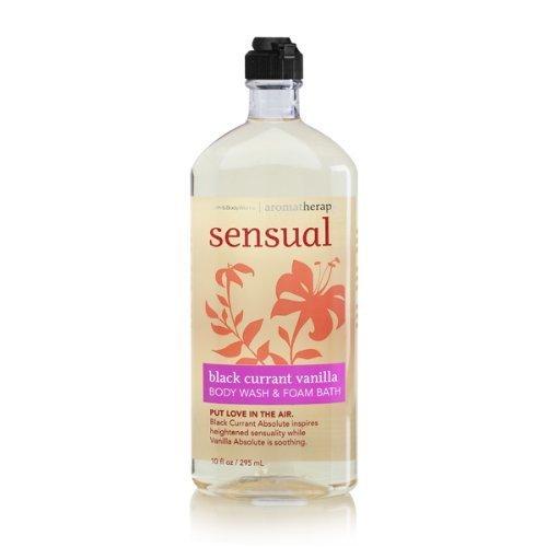Bath-Body-Works-Aromatherapy-Body-Wash-Foam-Bath-Sensual-Black-Currant-Vanilla-295ml