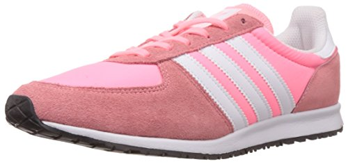 adidas Originals Adistar Racer, Baskets Basses Femme Rose (light Flash Red S15/ftwr White/core Black)