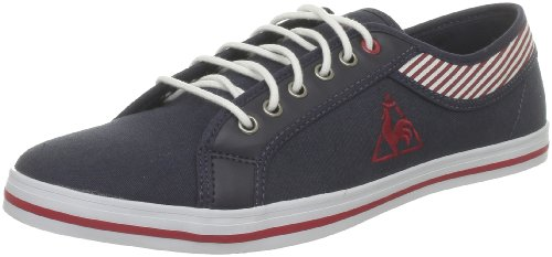 Le Coq Sportif Honfleur Cvs/Stripes, Baskets mode mixte adulte Bleu (Eclipse/Rouge)