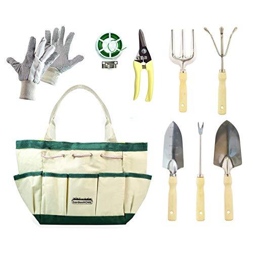 GeschenkIdeen.Haus - Gartenwerkzeug-Set für Hobby- & Profigärtner