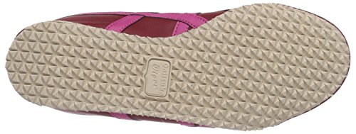 Onistuka Tiger Mexico 66, Chaussures de trail femme Rouge (2518-Burgundy/Magenta)