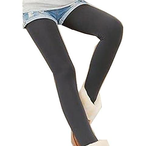 Pantalones leggins de las mujeres, RETUROM caliente venta caliente mujeres invierno grueso paño grueso y suave alineado térmico elástico polainas pantalones caliente