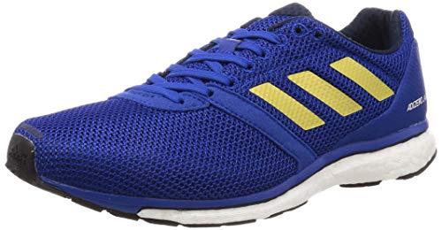 adidas Adizero Adios 4 M, Zapatillas de Running para Hombre, Azul Royal/Gold Met./Collegiate Navy, 43 1/3 EU