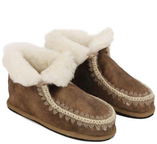 Slippers - Zapatillas de estar por casa para mujer marrón marrón 38 eUVh7mY