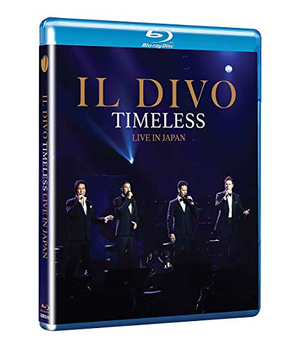 Il Divo -Timeless Live in Japan (At Nippon Budokan, Tokyo) [Blu-ray]