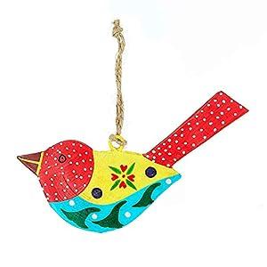 Deko Anhänger Vogel Herbst | Vogel Metall | Tiermotiv | HANDMADE | Geschenkidee | Geschenk für Mama Fensterdeko | Fensterschmuck | Wandeko