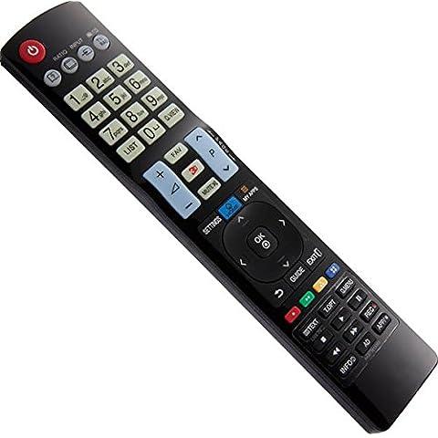 Mando a Distancia de repuesto para LG Smart TV My Aplicaciones 3d 47lm860V de