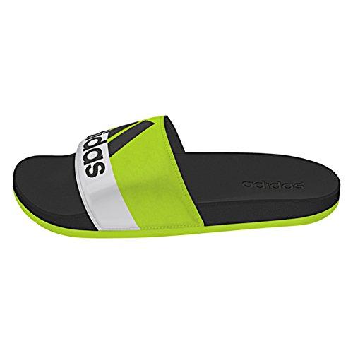 Adidas Performance Adilette Supercloud Sandale Semi Solar Slime-Black-White