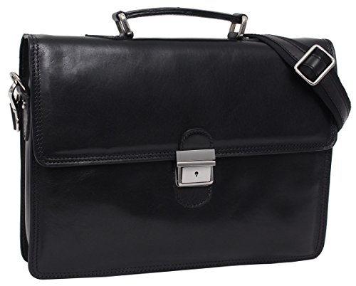 "4ad18ca11b Gusti Cuir studio ""Anthony"" sac business made in Italy sac bureau  attache-case"