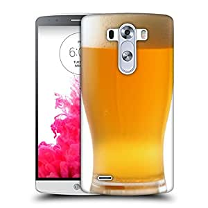 Snoogg Cold Beer Designer Protective Back Case Cover For LG G3