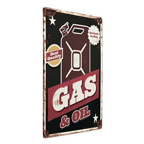 Photolini Cartel Chapa Gas and Oil 30x40
