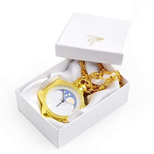 Sailor Kostüm Männer Einfach - Taschenuhr Jue, Vintage Golden Pentagram Cute, Pentagram Sailor Moon Cartoon Kinder Gold, Geburtstagsfest Gedenkgeschenk