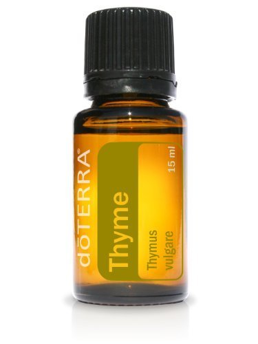 doTerra Thyme Essential Oil 15 ml by doTerra BEAUTY (English Manual)