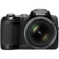 Nikon Coolpix L120 Digitalkamera (14 Megapixel, 21-fach opt. Zoom, 7,5 cm (3 Zoll) Display, HD Video, bildstabilisiert) schwarz