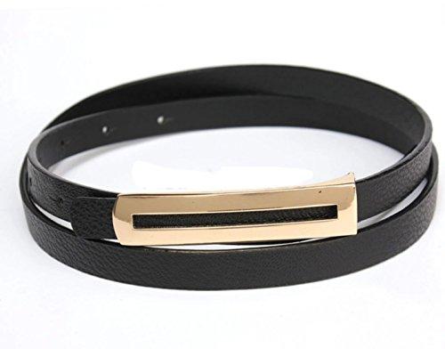 ladies-women-fashion-skinny-thin-faux-leather-waist-belt-black