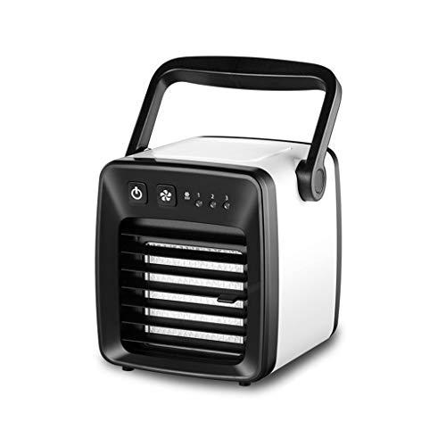 Enfriador de aire, mini ventilador de aire acondicionado, ventilador portátil de enfriamiento...