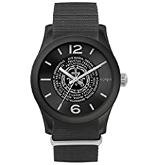 Idea Regalo - Orologio Ave Maria, Colore: Nero - Amen Collection