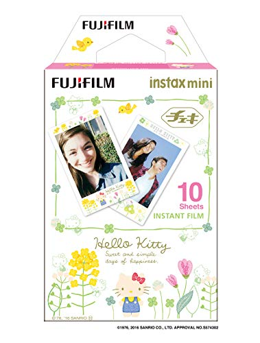 Fujifilm Colorfilm Instax Mini Hello Kitty3 WW1 Film weiß (Hello Film Instax Mini Kitty)