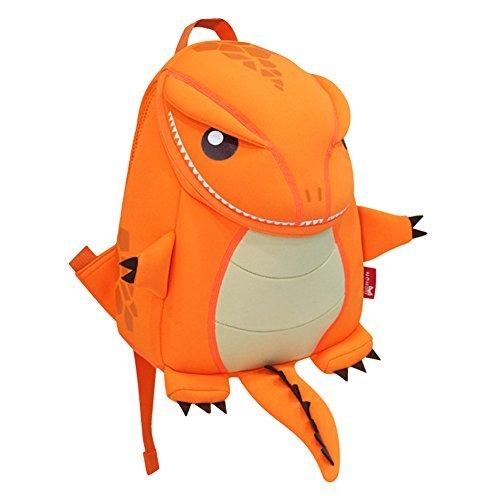 Vente BINGONE nohoo Kids Sac bandoulière 3D Dinosaure Cartoon Zoo Firedrake Orange