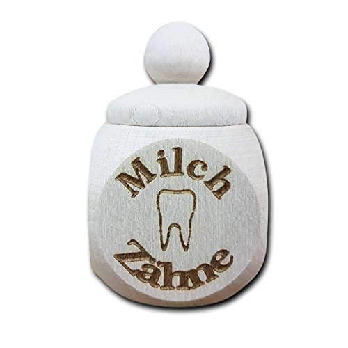 Ahorn Kirschbaum (Döschen mit Gravur - Personalisiert mit Namen - Pillen - Zahndose - Dekoration als Geschenk-Idee (Zahndose))