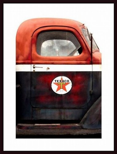 printfinders-texaco-gas-delivery-truck-frame-by-john-nakata