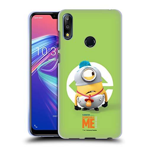 Head Case Designs Offizielle Despicable Me Stuart Baby Kostuem Minions Soft Gel Huelle kompatibel mit Zenfone Max Pro (M2) ZB631KL