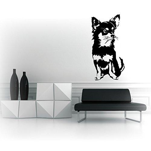 Chihuahua Hundeaufkleber Wandmotive Cartattoo Hunde |KB430W