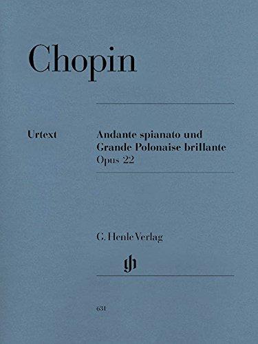 Andante spianato et grande Polonaise brillante Op.22 Mib Maj. - Piano par Frederic Chopin