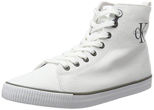 Calvin Klein Jeans Dolores Canvas, Scarpe Donna, Bianco (White), 36 EU