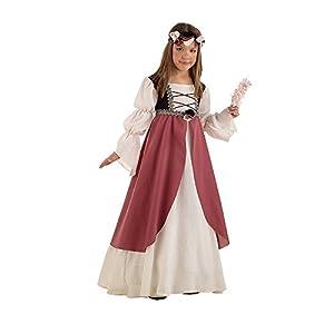 Limit Sport - Disfraz medieval de Clarisa para niños, talla 6 (MI389)