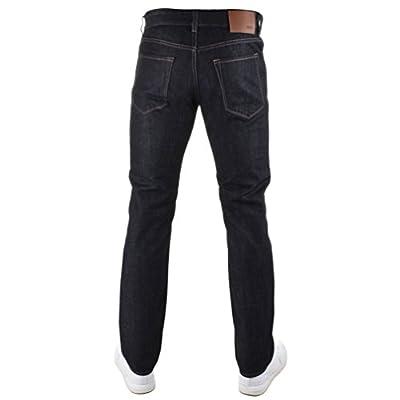 Navy Mens HUGO BOSS Black Maine 3 Jeans Navy