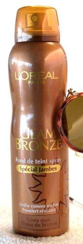 fond-de-teint-spray-special-jambes-glam-bronze-de-loreal-teints-mats