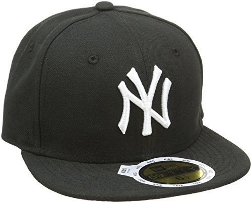 new-era-k-5950-mlb-league-basic-new-york-yankees-cappello-da-bambini-colore-nero-taglia-6-3-4