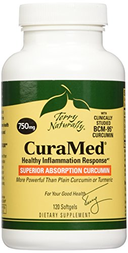 Terry Naturally CuraMed (750mg, 120 Softgels)