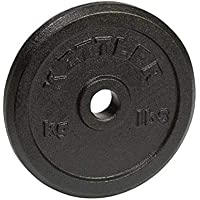 Kettler Hantelscheibe-Plataforma (de 20 a 39,9 kg), Color Negro Disco Acero 20 KG, Adultos Unisex, Talla Única