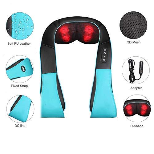 H&Y 3D Rotación Masajeador Cervical 8 Nodos